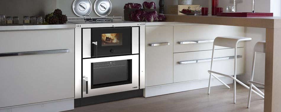 Cucina da incasso da 80 cm Verona Nordica | Spazzacamino Caminetti ...