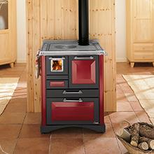 Cucina a legna da 69 cm Rubino Cadel Padova | Spazzacamino Caminetti ...
