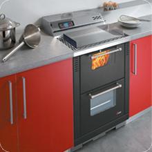Cucina incasso pellet Family Cadel Padova