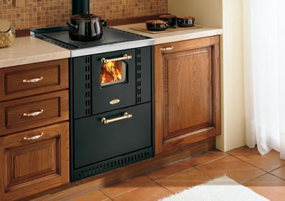 Cucina da incasso da 60 cm cadel ghibli padova - Stufe da cucina a legna ...
