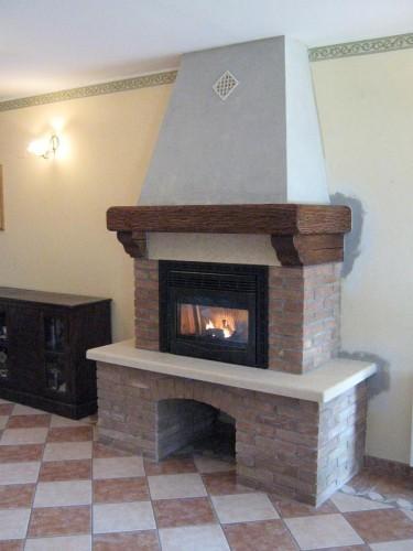 Fornitura e installazione inserti per caminetti padova for Inserto camino