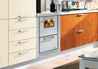 Cucina da incasso mini da 45 cm per padova rovigo venezia - Stufa a pellet a incasso ...