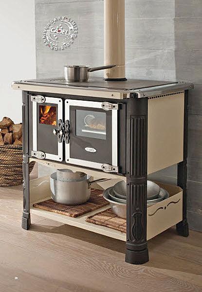Tilde cucina a legna cadel spazzacamino caminetti su misura canne fumarie padova lavori d - Stufe a legna cucina ...
